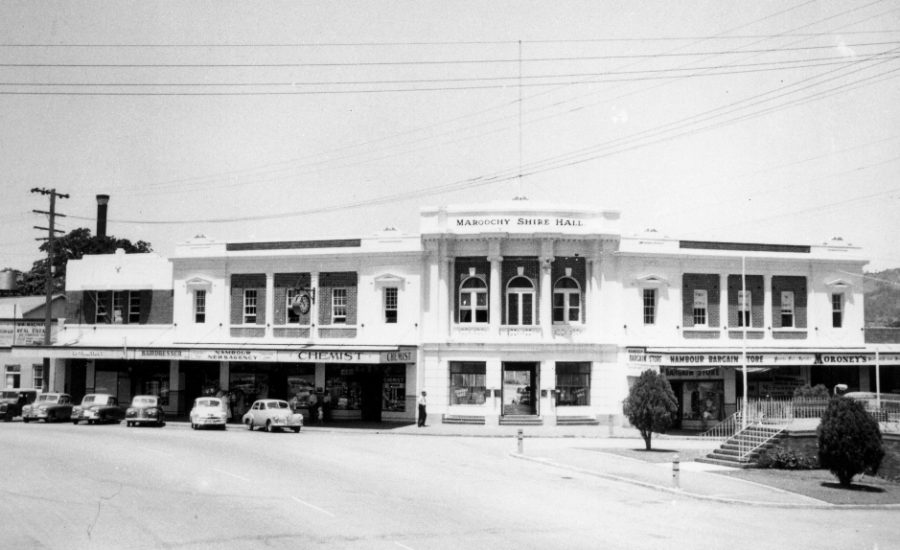 Shire Council - New Civic Hall 1959