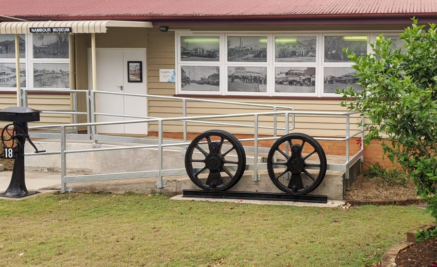 front of museum 2021 no 2